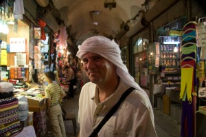 In the Souk at Aleppo