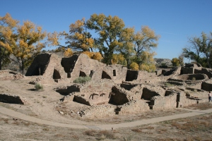 'Aztec' Pueblo Ruins, northern New Mexico