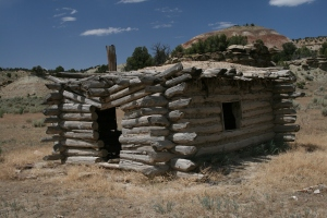 Abandoned homestead in northeastern Colorado